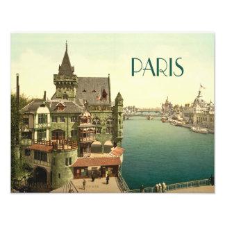 Vintage París 1900's Fotografía