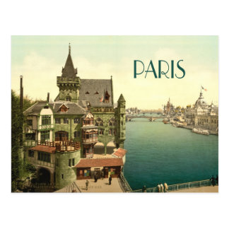 Vintage París 1900's Tarjeta Postal