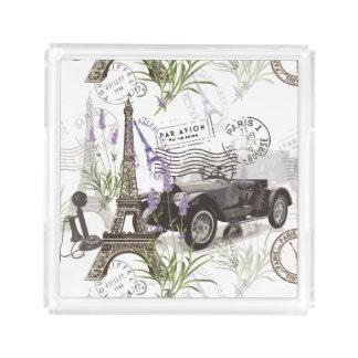 Vintage Paris Acrylic Tray