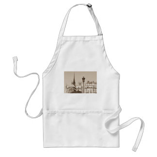 Vintage Paris Adult Apron