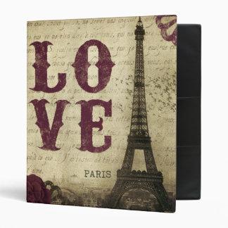 Vintage Paris Binder
