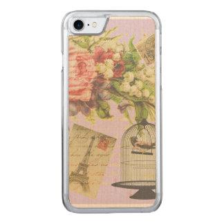 Vintage Paris- Birdcage Carved iPhone 8/7 Case