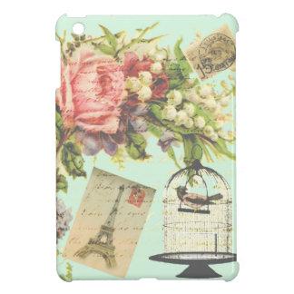 Vintage Paris- Birdcage iPad Mini Cover
