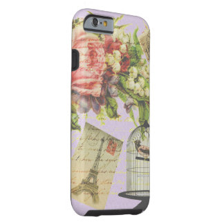 Vintage Paris- Birdcage Tough iPhone 6 Case