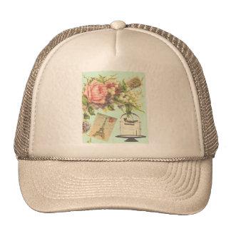 Vintage Paris- Birdcage Trucker Hat