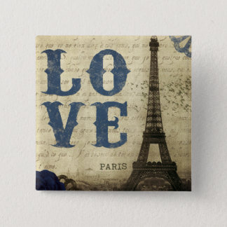 Vintage Paris Button