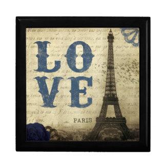 Vintage París Caja De Joyas