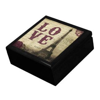 Vintage París Caja De Recuerdo