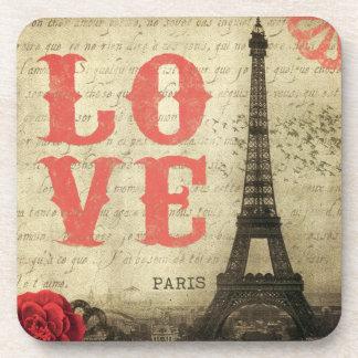 Vintage Paris Coaster