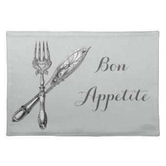 Vintage Paris cutlery Placemat
