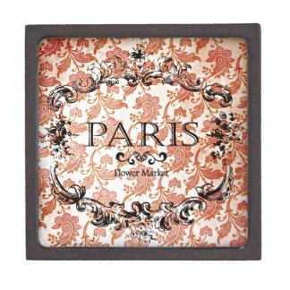 Vintage Paris Damask Gift Box