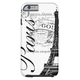 Vintage Paris & Eiffel Tower Tough iPhone 6 Case