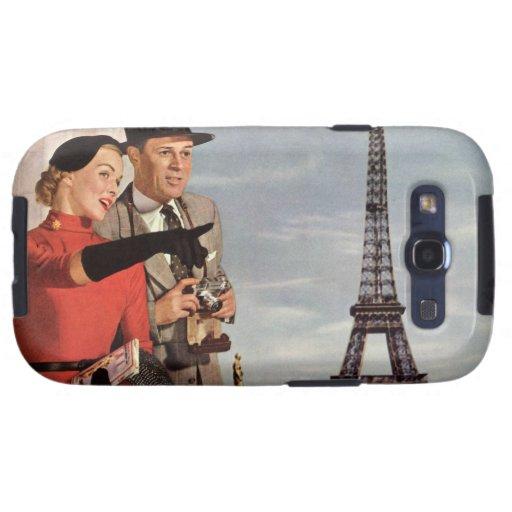Vintage Paris - Eiffel Tower Samsung Galaxy SIII Cover