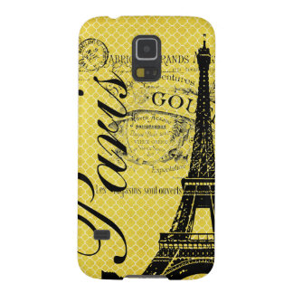 Vintage Paris & Eiffel Tower Galaxy S5 Covers