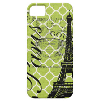 Vintage Paris & Eiffel Tower iPhone 5 Case