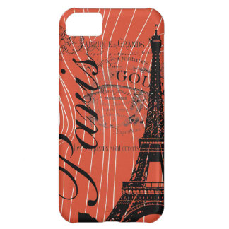Vintage Paris & Eiffel Tower iPhone 5C Covers