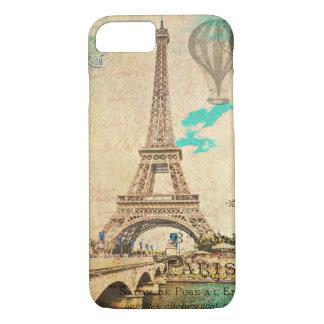 Vintage Paris Eiffel Tower iPhone 7 case