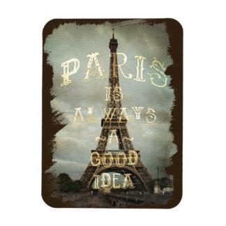 Vintage Paris Eiffel Tower Magnet