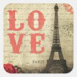 Vintage París Etiquetas