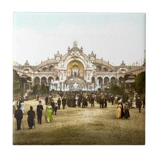 Vintage Paris Exposition of 1900 Tile