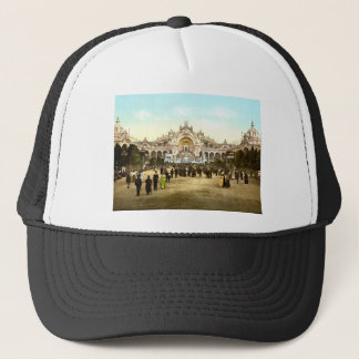 Vintage Paris Exposition of 1900 Trucker Hat