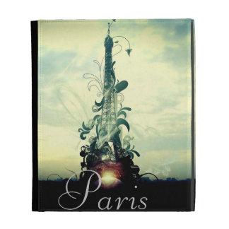 Vintage Paris Fantasy iPad Folio Cover