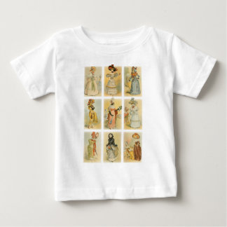 Vintage Paris Fashion (18th and 19th century) Baby T-Shirt