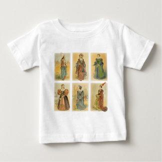 Vintage Paris Fashion - Medieval Baby T-Shirt