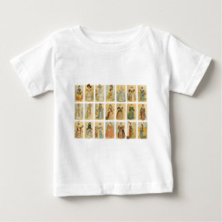 Vintage Paris Fashion (middle ages to 19th century Baby T-Shirt