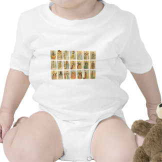 Vintage Paris Fashion (middle ages to 19th century Baby Bodysuits