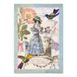 Vintage Paris for Bridal Shower or Birthday Party Personalized Invitation