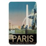 Vintage París, Francia - Iman Rectangular