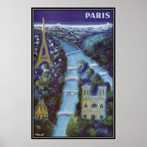 Vintage París, Francia - Impresiones