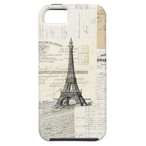 Vintage Paris French Case iPhone 5 Case