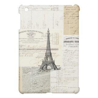 Vintage Paris French Ephemera iPad Case