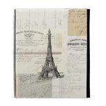 Vintage Paris French Ephemera iPad Folio Case