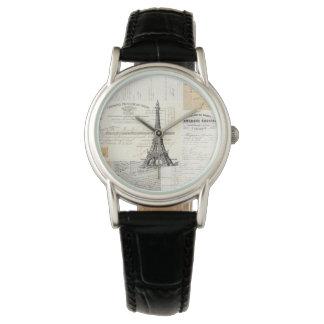 Vintage Paris French Ephemera Watch