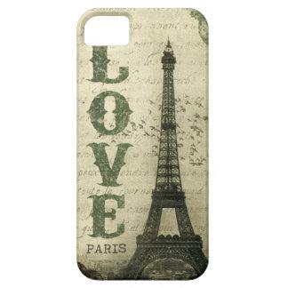 Vintage París iPhone 5 Protectores