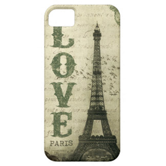 Vintage París iPhone 5 Protector