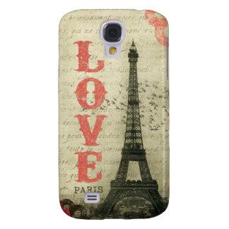 Vintage París Funda Para Galaxy S4