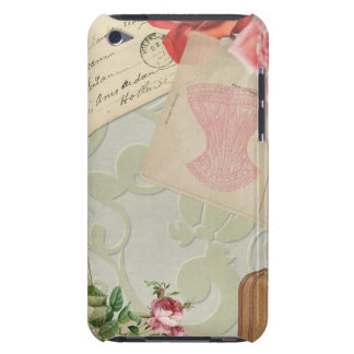 Vintage Paris Graphics Barely There iPod Case