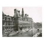 Vintage Paris, Hotel de Ville Post Cards
