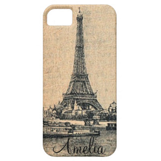 Vintage Paris I Phone Case