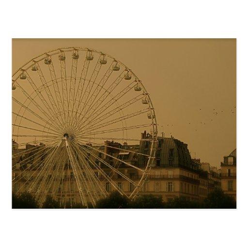 Vintage Paris II Post Card