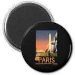 Vintage París Imán Para Frigorífico