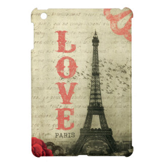 Vintage Paris iPad Mini Cover