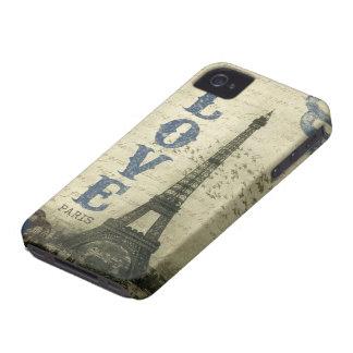 Vintage Paris iPhone 4 Case-Mate Case