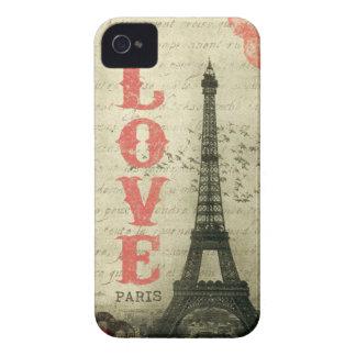 Vintage París iPhone 4 Coberturas