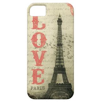 Vintage París iPhone 5 Funda