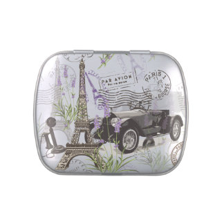 Vintage Paris Jelly Belly Tin